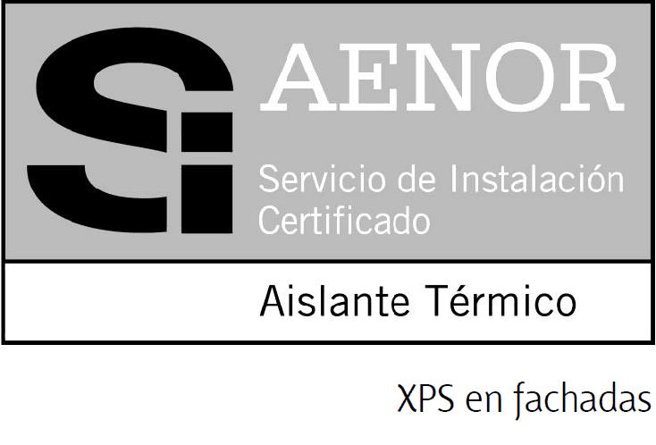 Logo de la Marca SI de XPS en Fachadas