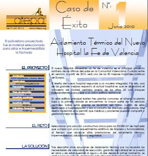Caso de éxito, Hospital la Fe de Valencia