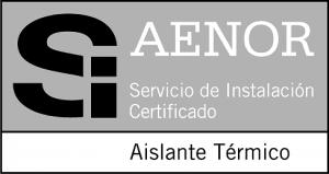 Logo Marca SI de AENOR