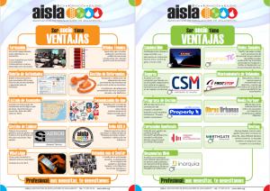 Ventajas para el Asociado de AISLA 2016