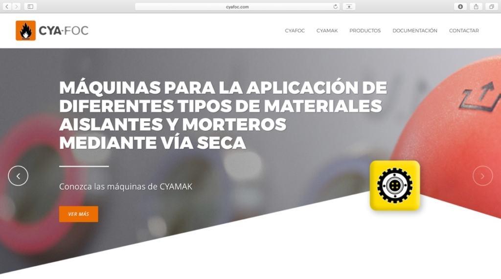 Nueva Página Web de CYAFOC 2