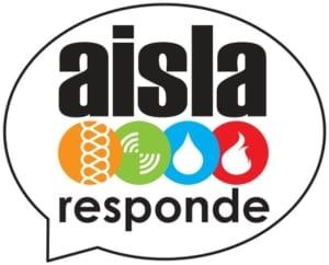 Logo del Servicio AISLA Responde