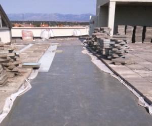 Rehabilitación de cubierta plana