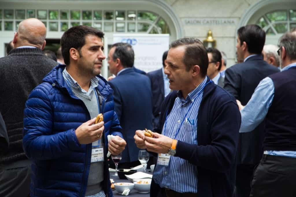 David Fernández, de JOMAR, y Segundo García, de SUAVAL