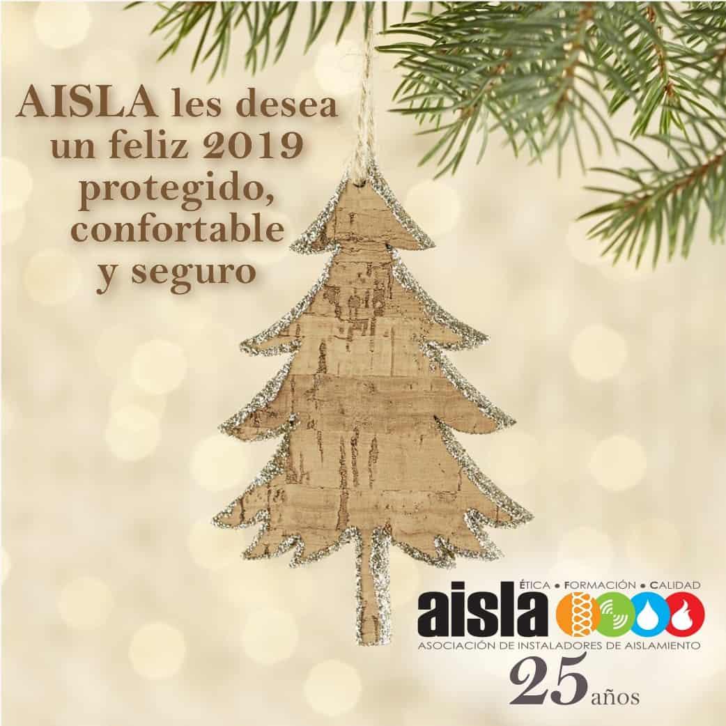 Felicitación 2019 de AISLA