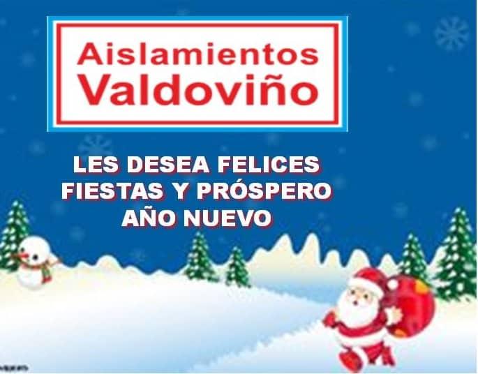 Felicitación 2019 de AISLAMIENTOS VALDOVIÑO