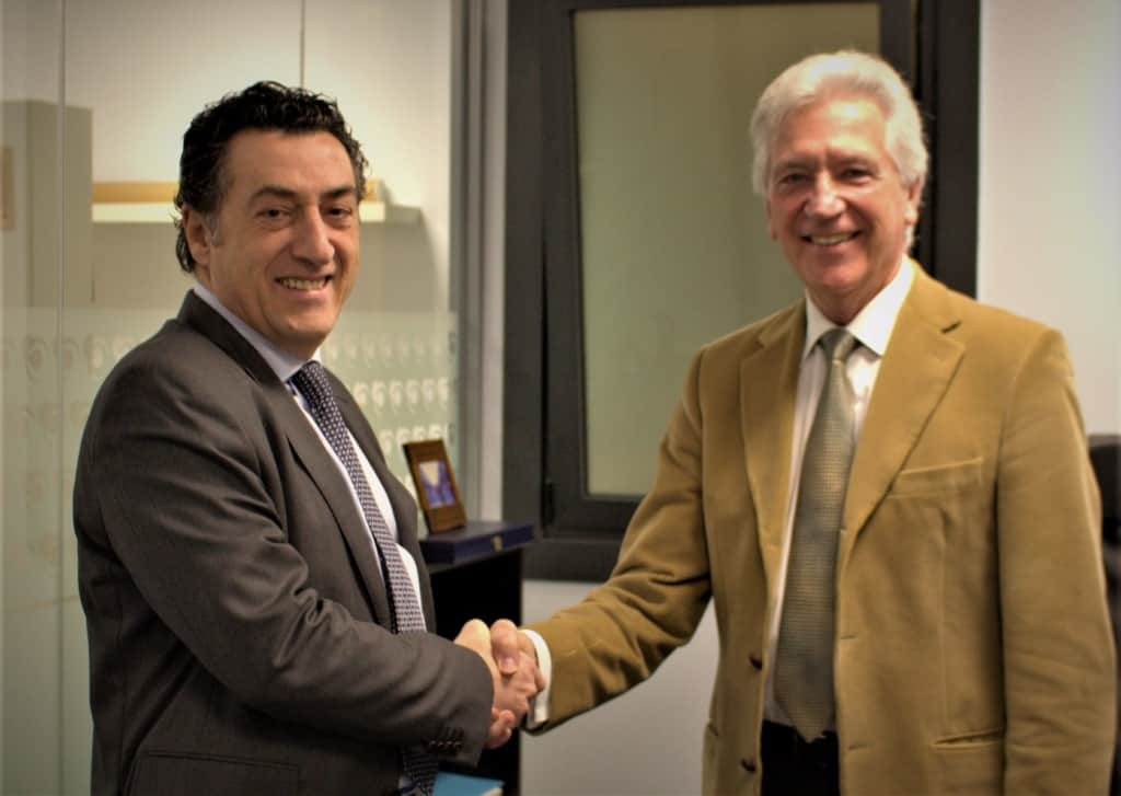 Carlos Doria y Michel Zugadi