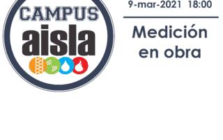 CAMPUS AISLA Medición