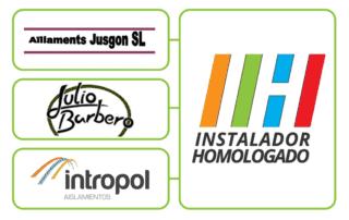 INTROPOL, AÏLLAMENTS JUSGON y JULIO BARBERO MORENO obtienen el Sello IH